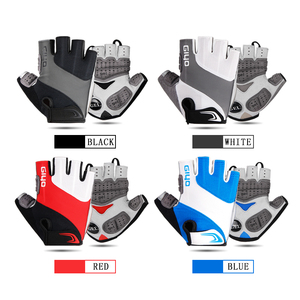 Image 2 - GIYO Bicycle Gloves Half Finger Outdoor Sports Gloves For Men Women Gel Pad Breathable MTB Road Racing Riding Cycling Gloves DH