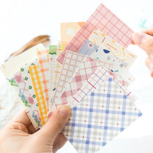 Dimi 50 Sheets Fresh Colors Semi Sweet Series Collage Journaling Source Material Paper Kawaii Diary Album DIY Backing papelería