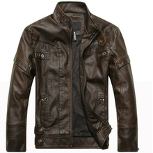 Men's Leather Jackets Brand Motorcycle Leather Jacket Men Fur Jacket Jaqueta De Couro Masculina Mens Leather Coats Jaqueta Couro