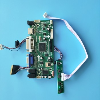 "Kit para N156B6-L0A DVI HDMI Placa de controlador LCD VGA 15,6 ""Monitor Panel OCM pantalla LED DIY 40pin M NT68676 1366X768"