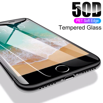 50D Pellicola protettiva / Vetro Temperato per  iPhone 7 8 - Phone 8 7 6 6s Plus Protect Film 1