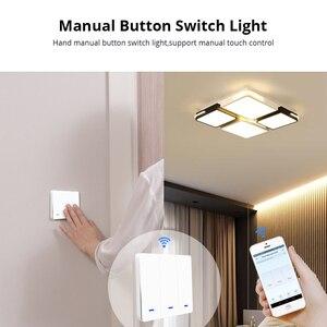 Image 5 - Zemismart wifi interruptor de parede alexa google casa tuya interruptores de luz três gangues duas gangues um gang botão físico