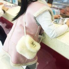 Зима 2020 сумка для маленьких девочек мини кошелек через плечо