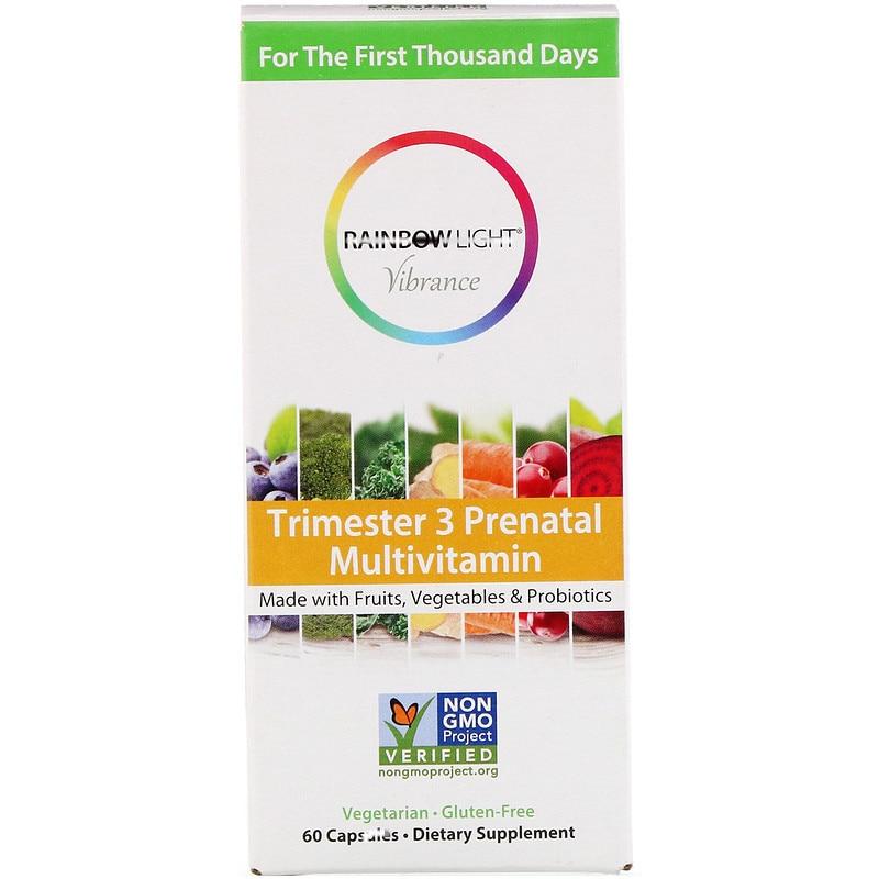 Vibrance, Trimester 3 Prenatal Multivitamin, 60 pcs
