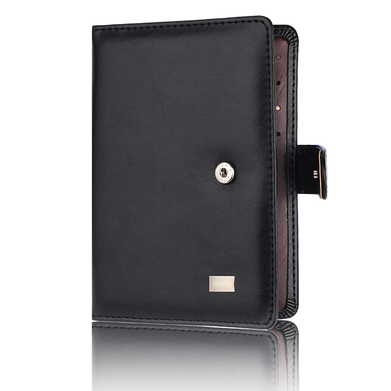 PU Leather Passport Cover Men Travel Wallet Credit Card Holder Cover Russian Driver License Wallet Document Case