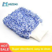 1 Pcs Ultra Luxury Microfiber Car Wash Gloves Car Cleaning Tool Home use Multi function Cleaning Brush Detailing Never Scrat