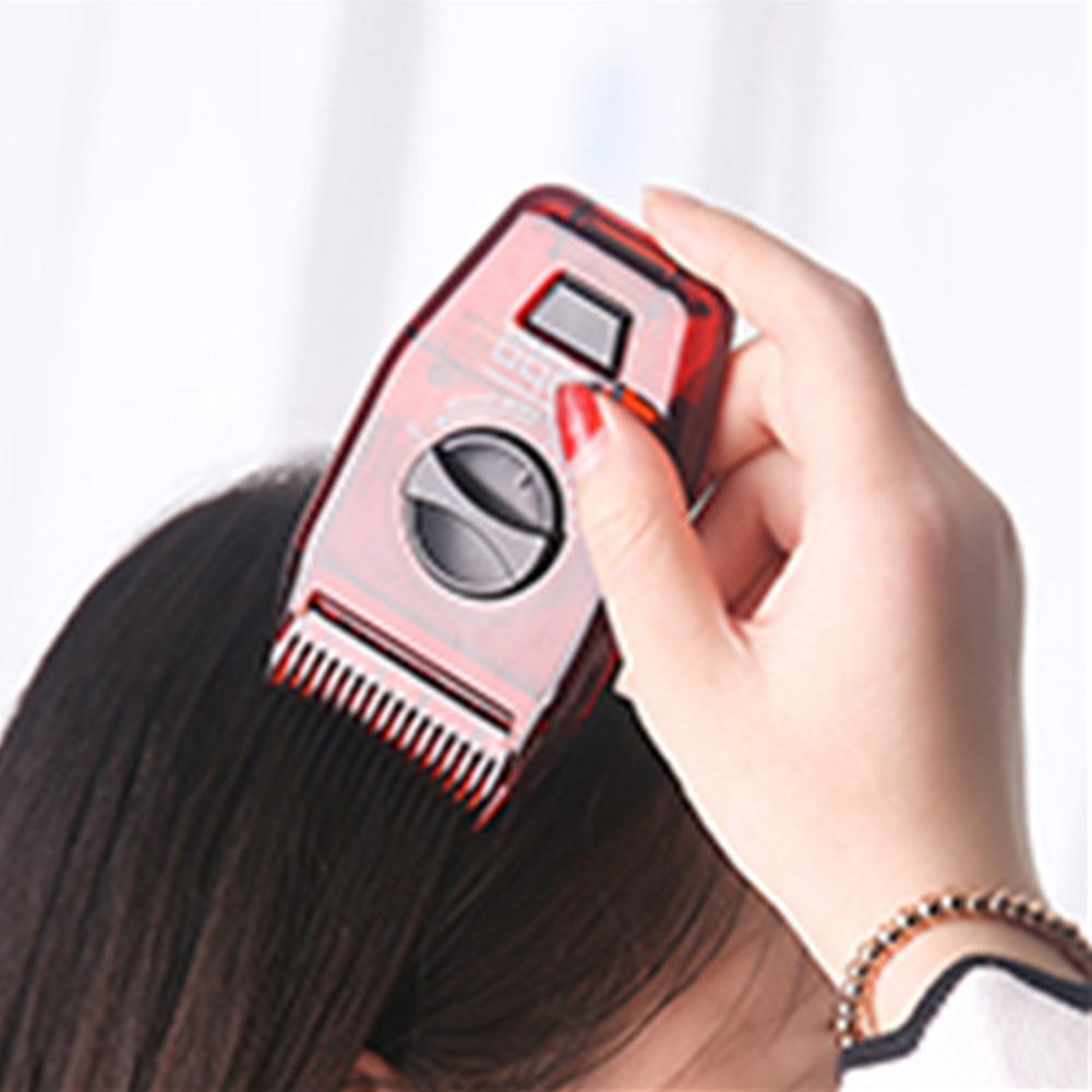 Adjustable Comb Home Multifunctional Haircut Travel Salon For Split Ends Clipper Cordless Hairdressing Tool Manual Hair Trimmer