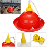 Thick Chicken Duck Goose 1set bell type Type Automatic broiler turkey farm Waterer Drinker farming equipment animals cocks agro