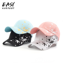 Baseball Cap Pure Cotton Outdoor Sport Caps with Printing Hat for Men Women Casual Fall 2019 Fashion