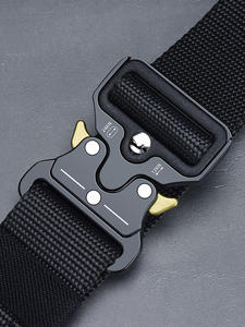 NO.ONEPAUL Tactical-Belt Buckle Nylon Military Multifunctional Metal Outdoor Men's High-Quality