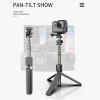 Высокое качество беспроводной bluetooth селфи палка штатив с дистанционным Palo селфи выдвижной складной монопод для Iphone экшн-камеры 3