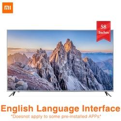 2019 nowy 4S Xiaomi TV 58 cali 4K HDR 2GB 8GB Smart TV sterowanie głosem wbudowany głośnik Xiaoai Dolby audio TV 1