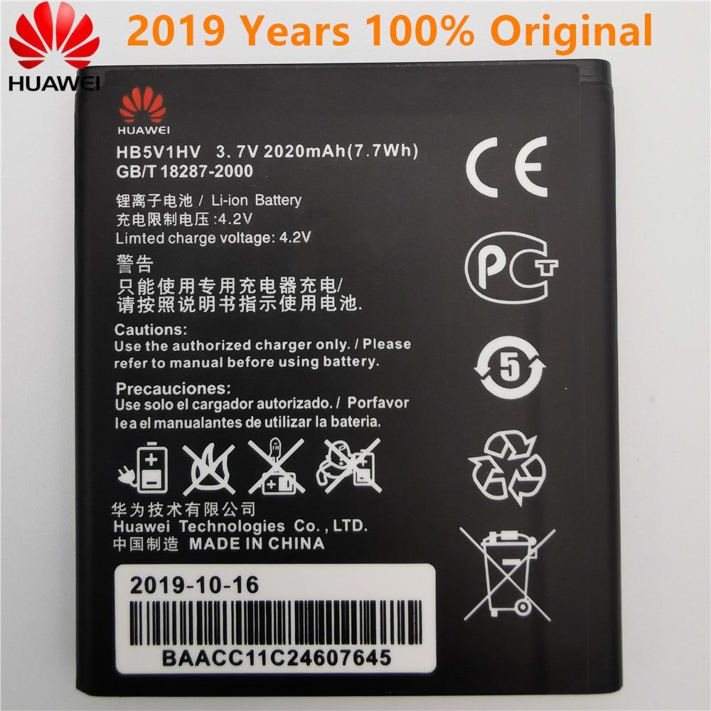 2019 New Original High Quality HB5V1HV HB5V1 2020mAh Battery For Huawei Honor Bee Y541 Y5C Y541-U02 Y560-U02 4.5 Inch Batteries