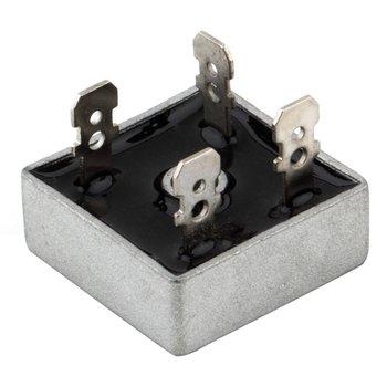 KBPC5010 1000 Volt Bridge Rectifier 50 Amp 50A Metal Case for Heat Dissipation 1000V Square Shape Single Phases Diode Bridge bolt type zp300a 1000v spiral defence of the diode rectifier thyristor