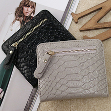 female purse wallet card snake small women wallets leather PU short money clip mini coin pocket ultra-thin zipper purses folded leftside designer pu leather women cute short money wallets with zipper female small wallet lady coin purse card wallet purses