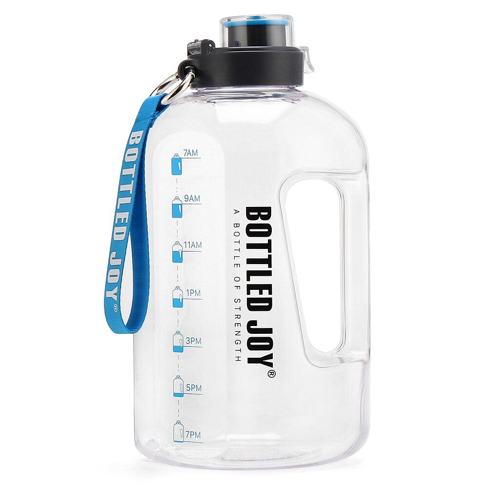 1.5L/2.5L/3.7L бутылка для воды для спорта на открытом воздухе велосипед питьевой воды чайник большой Ёмкость бутыль для воды для занятий спортом ...