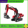 CONUSEA 1:87 גבוהה סימולציה סגסוגת הנדסת רכב חופר דגם סגסוגת חופר כדום דגם חזק משאית מתנת צעצוע מכוניות