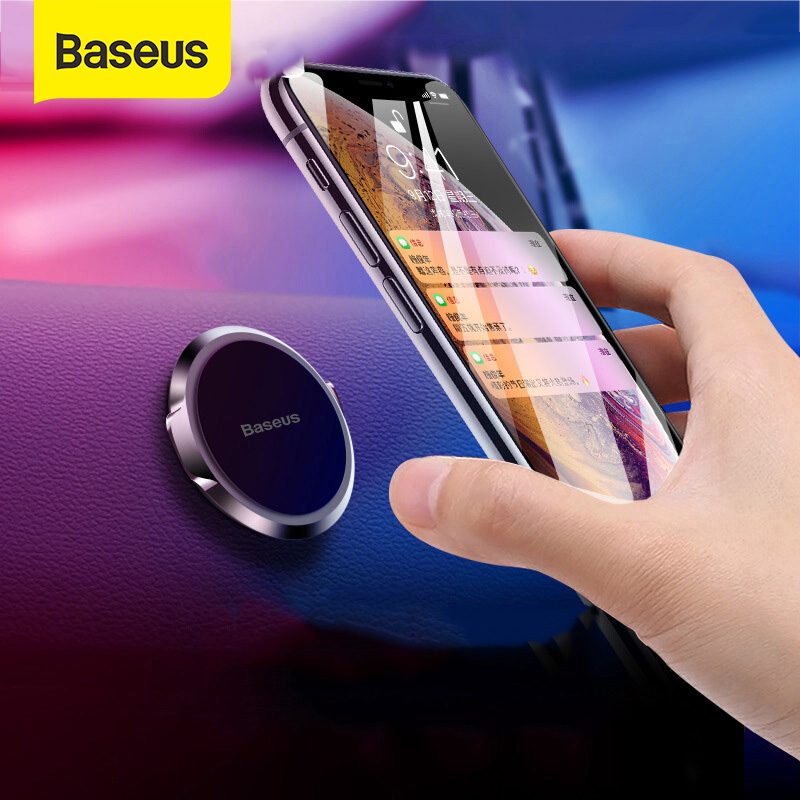 Baseus Magnetic Car Phone Holder Air Vent Stand Magnet Dashboard Car Mount Desk Wall Sticker Mobile Phone Car Support Holder