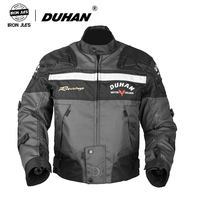 DUHAN Motocross Off Road Racing Jacket Motorcycle Jackets Body Armor Protective Moto Jacket Motorbike Windproof Clothing