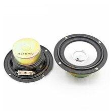 SOTAMIA 2 sztuk 3 Cal Audio przenośne głośniki pełnozakresowe 4 Ohm 10 W DIY muzyka moc dźwięku Mini głośnik głośnik kina domowego
