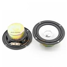 SOTAMIA 2Pcs 3 Inch Audio Portable Full Range Speakers 4 Ohm 10 W DIY Music Power Sound Mini Speaker Loudspeaker Home Theater