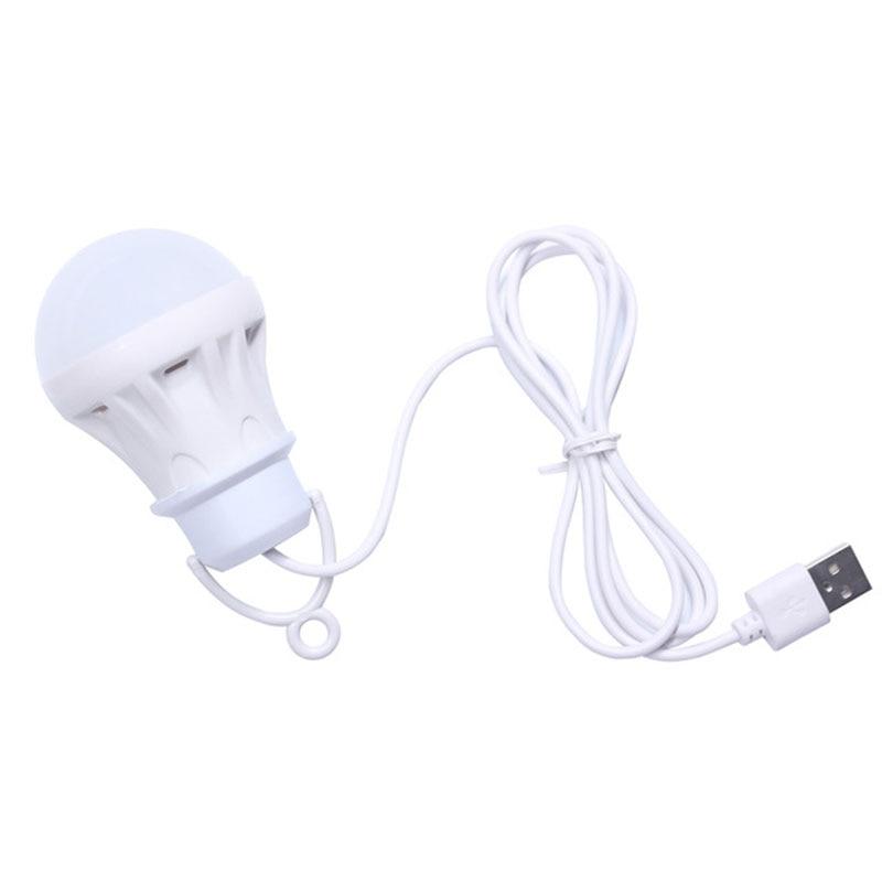 Camping Lantern Portable LED Bulb 5V LED USB Power Bank Lamp 6 SMD For Camping Hiking Reading Tent Lamp Super Bright
