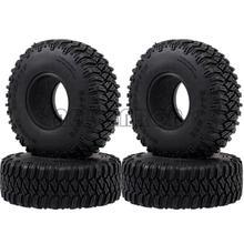 """ENRON neumáticos de goma suave para coche, 4P, 1,55 """", 96MM, D90 TF2 Tamiya CC01 LC70 LC80 Axial 90069"""