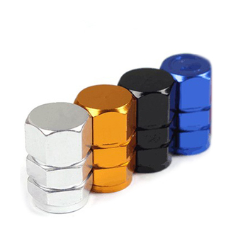 4pcs/set Hot Sale Theftproof Aluminum Car Wheel Tires Valves Tyre Stem Air Caps Cove Dustproof Cover Car Accessories image