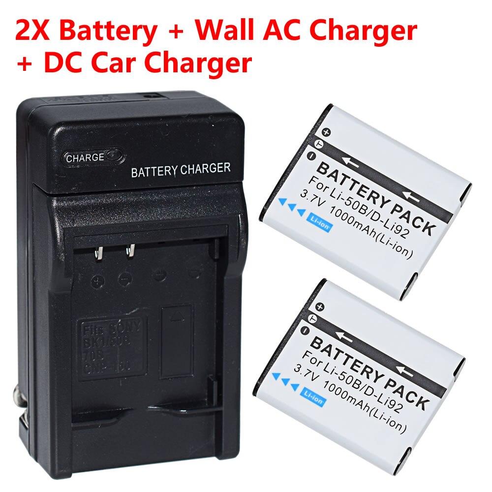 2 шт. Батарея + Зарядное устройство для Kodak LB-050 LB-052 & Kodak Pixpro SPZ1 SL25 Смарт линзы