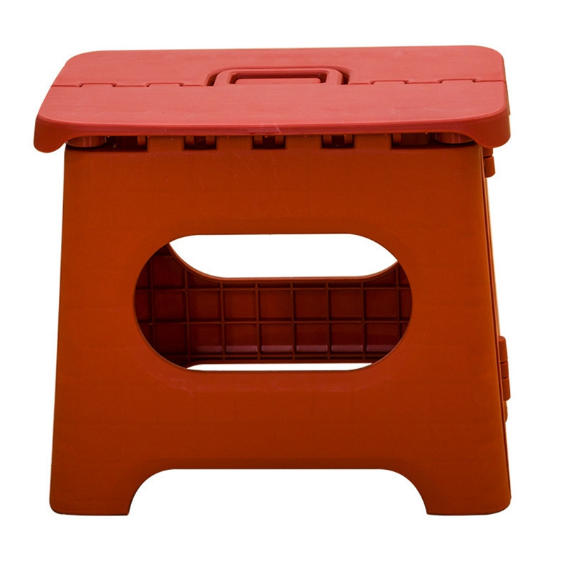 Portable Fold Stool Household Foldable Solid Color Small Stool Shower Room Children Fold Stool Outdoors Portable Campstool
