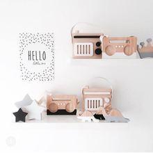 木のおもちゃ赤ちゃんのおもちゃ木製北欧ファッションカメラ部屋の装飾diyプレゼント幼児のおもちゃ