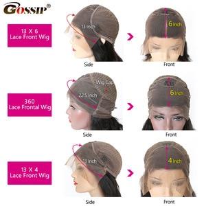 Image 5 - 13X6 ลูกไม้ด้านหน้าวิกผมลูกไม้ด้านหน้าด้านหน้ามนุษย์ Wigs สำหรับผู้หญิงสีดำบราซิล 360 วิกผมลูกไม้ด้านหน้าด้านหน้า pre Plucked Remy วิกผม
