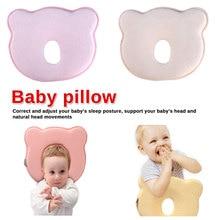 Baby Pillow Prevent Flat Head Memory Foam Cushion Sleeping Support 2019 Hot Infantil Newborn Room Soft Infant