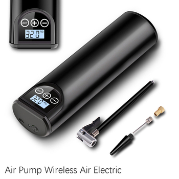 Electric Car Air Pump 12V 150PSI Rechargeable Tire Inflator Wireless Compressor Digital Tyre Pump for Car Bicycle Tires Balls 1pcs electric bicycle tires 2 25 14 2 50 14 2 75 14 inch electric motorcycle bicycle tire bike tyre whole sale use
