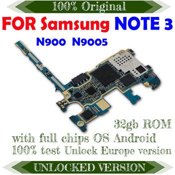 Do Samsung Galaxy NOTE 3 N900 N9005 32GB oryginalna płyta główna europa wersja odblokowana płyta główna pełna funkcja płyta główna tanie i dobre opinie TDHHX Wewnętrzny For samsung Galaxy NOTE 3 N900 N9005 For samsung Galaxy NOTE 3 N900 N9005 Motherboard Original Disassemble