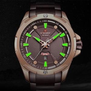 Image 3 - Top Naviforce Heren Horloge Merk Luxe Mode Quartz Mannen Horloges Waterdichte Sport Mannelijke Militaire Polshorloge Relogio Masculino
