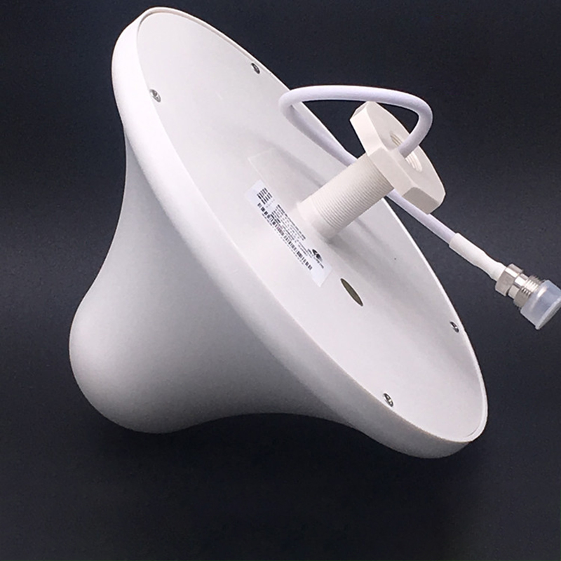 Indoor Ceiling Antenna GSM/3G 800-2500Mhz 5dBi 5m Cable N Male For GSM 3G Cell Phone Signal Booster Repeater Amplifier