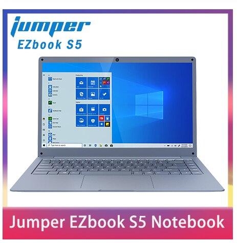 Jumper EZbook S5 14.0 Inch Laptop Apollo N3350 6GB DDR4L+64GB EMMC Windows 10 1920*1080 FHD Ultrathin Notebook