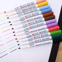 12 Color Whiteboard Pen Set Erasable Marker Pen For White Board Glass Drawing Writing Office Meeting School Teacher Supplies