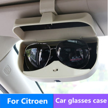 Car Sunglasses Holder Glasses Case Cage Storage Box For Citroen Grand C4 Picasso