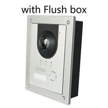DH logo VTO2202F P بو (802.3af) و 2 سلك IP فيلا معدنية الجرس ، باب الهاتف ، جرس الباب ، IP فيديو إنترفون ، دعوة إلى الهاتف التطبيق