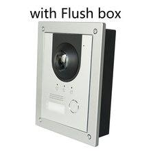 DH logo VTO2202F-P PoE(802.3af) i 2-Wire IP metalu willa dzwonek do drzwi, telefon drzwi, dzwonek do drzwi, IP wideodomofon, zadzwoń, aby aplikacja na telefon