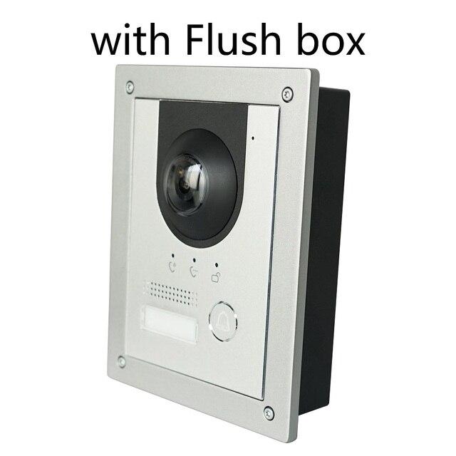 DH logo VTO2202F-P PoE(802.3af) and 2-Wire IP Metal Villa doorbell ,Door Phone,doorbell,IP Video Intercom, call to phone app