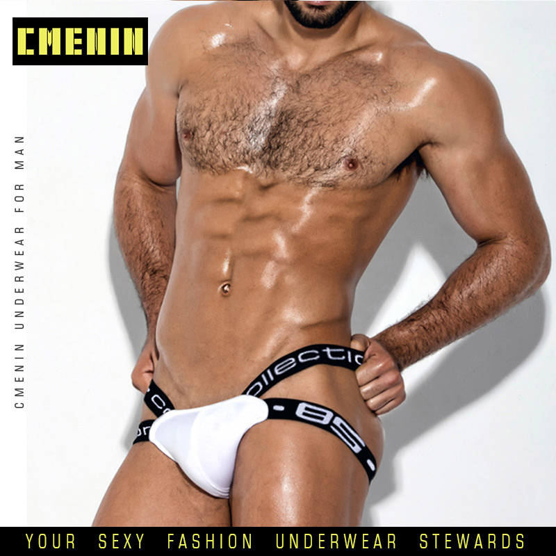 Cotton Soft Sexy Gay Underwear Men Thong Men Jockstrap Men's Underwear G String Men Penis Pouch Gay Underwear Sexi BS3501