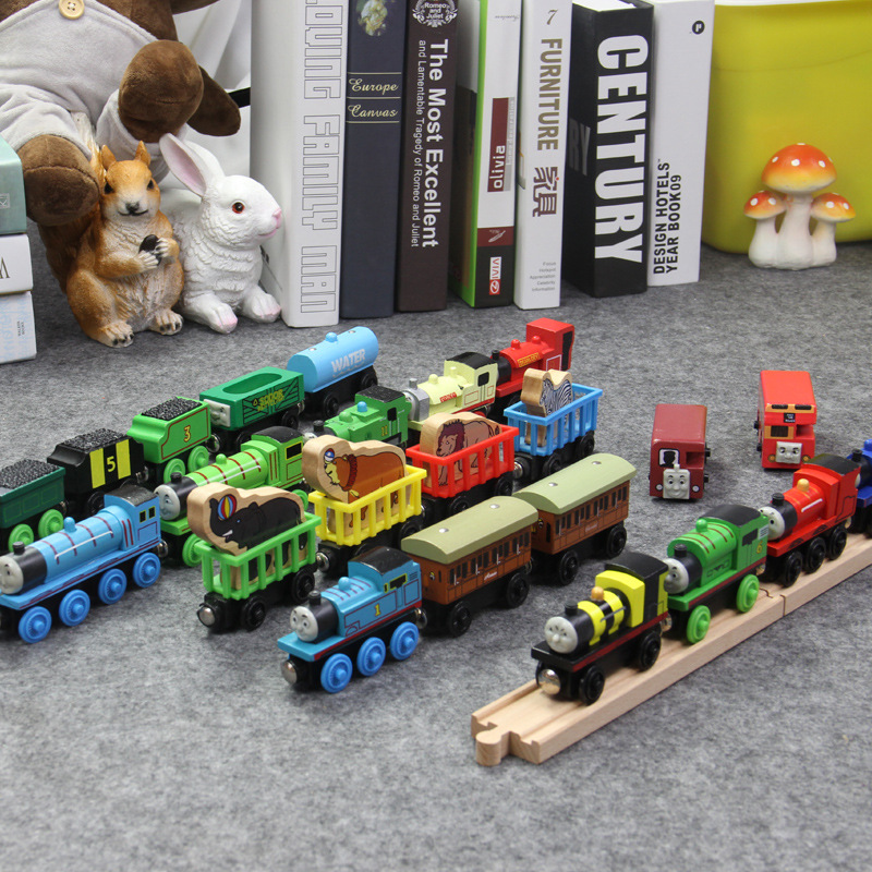 Thomas And Friends Thomas Wooden Trains Toys Gordon Henry Duncan Mini Wooden Trains Toy Thomas Trains Toys For Kids Gift