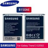 Samsung Bateria Original B150AE B150AC Para i8260 i8262 Samsung GALAXY Trend3 G3502 G3508 G3509 G350E G350 Bateria Do Telefone 1800mAh