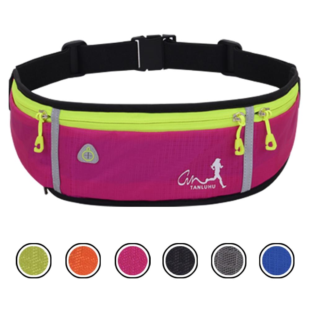 running - Waterproof Running Waist Packs Running Bag Belt Phone Container Jogging Hiking Belt Gym Fitness Bag Running Accessories SB0032
