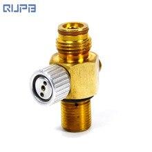Емкость для пневматики с предварительной накачкой, для пейнтбола ONOFF клапан M18* 1,5 или 5/8-18UNF впускная нить