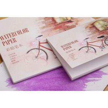 12 arkuszy A5 A6 akwarela szkicownik papier do rysowania malowanie kolorowy ołówek książka tanie i dobre opinie CN (pochodzenie)