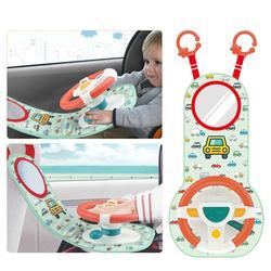 Автомобиль Copilots заднее сиденье Моделирование маленькая игрушка с рулевым колесом колесо раннего образования звучащая игрушка Детские игр...